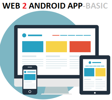 WEB 2 ANDROID APP- SILVER Package